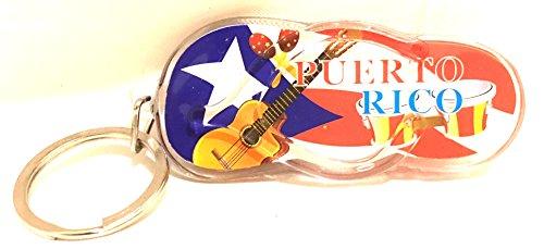 Puerto Rico Key Ring Keychain