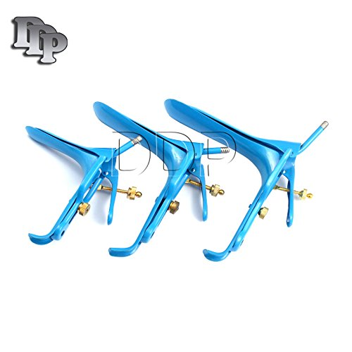 - DDP LOT OF 3 PIECES BLUE COATED LLETZ LEEP GRAVES SPECULUM SMALL, MEDIUM, LARGE