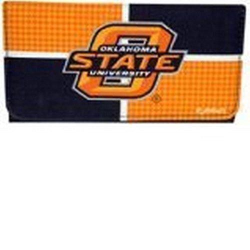 (GAMEDAY NCAA Officially Licensed Houndstooth Tri-Fold Wallet Clutch (Oklahoma State University Cowboys))