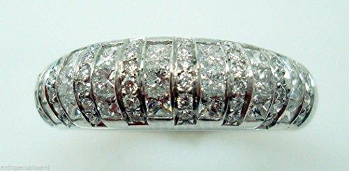 Diamond Domed Band - 4