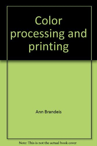 Color processing and printing (Master class photography series)
