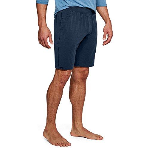Under Armour Men's Athlete Recovery Sleep Shorts, Academy (409)/Black, Large