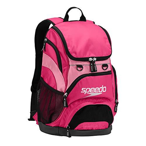 (Speedo Teamster Backpack, Fuchsia Purple/Azalea Pink, 25-Liter)