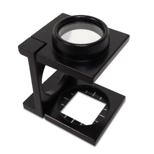 PEAK TS1209WZ3 Zinc Double Lens Linen Tester, 9X Magnification, 0.5