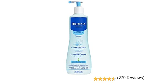 Mustela No Rinse Cleansing Water (Face & Diaper Area): Amazon.es ...