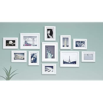 Amazon.com - Ray & Chow White Photo Picture Gallery Wall Frame Set ...