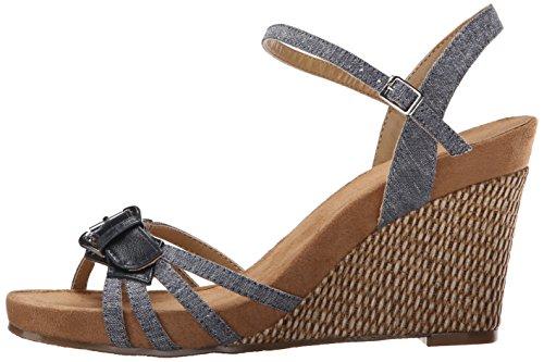 b86daf2d7e37 Aerosoles Women s Plush Around Wedge Sandal - Import It All
