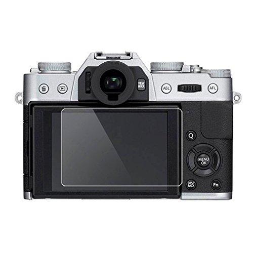 Fuji XT10 Screen Protector, BolinUS 0.3mm LCD Optical 9H Hard Tempered 2 Pack Anti-scratch Glass Screen Protector Skin Film for Fujifilm Fuji X-T10 X-E3 Camera