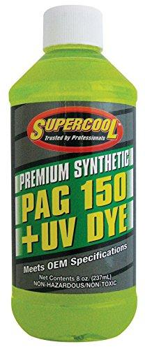 150 Viscosity Pag Oil - TSI Supercool P150-8D PAG 150-Viscosity Plus U/V Dye Oil - 8 oz