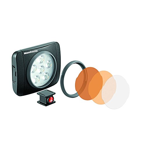 LUMIMUSE 6 LED Light and Accessories - Black