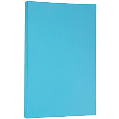 JAM Paper® 8 1/2 x 14 Legal Size Paper - PRIME Brite Hue - 100 Sheets per Pack