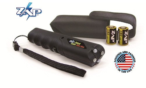 """ZAP STICK Light"" 800,000K Volt Stun Gun w/Flashlight & Holster by ZAP"