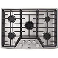 LG STUDIO 36 Stainless Steel Gas Cooktop
