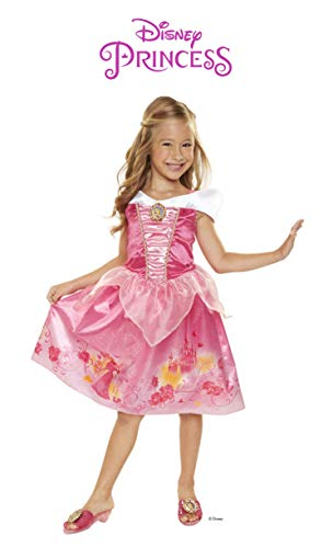 Disney Princess Aurora Explore Your World Dress, Pink, Size: 4-6x