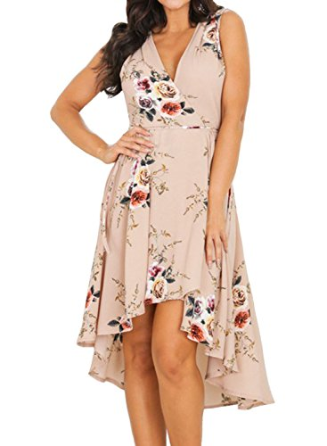 MITILLY Womens Chiffon Floral Sleeveless product image