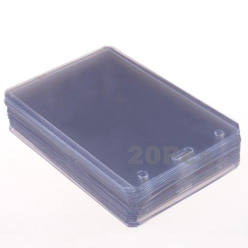 Cosmos Semitransparent Plastic Badge Holder