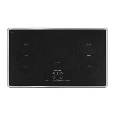 Kitchenaid KICU569XSS 36, 5-Element Induction Cooktop