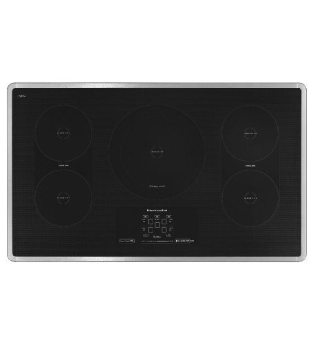 Kitchenaid KICU569XSS 36-Inch, 5-Element Induction Cooktop