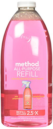 Method All Purpose Cleaning Spray 68 Fl Oz, Pink Grapefruit, Refill Bottle