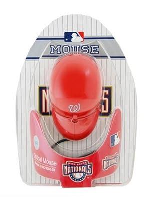 Washington Nationals MLB Baseball Cap Hat Computer USB Optical PC Scroll Wheel Mouse