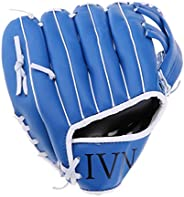 Baoblaze Softball Gloves Baseball Catcher Mitt PU Leather Gamer Glove 10.5/11.5/12.5 for Teen/Adults/Kids Trai