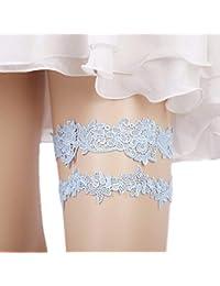 39d38ad108d Lace Garter Set Wedding Garter Belt Flower Floral Design Garter for Bride