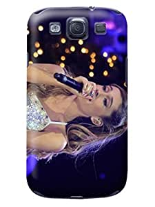 attractive designed Samsung Galaxy s3 Lovely Ariana Durable pc phone Case/Cover/Shield fashionable