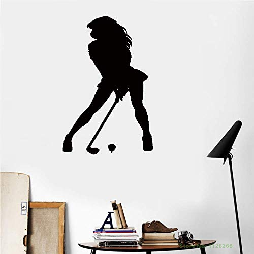 - Vinyl Wall Lettering Stickers Quotes Saying Wall Decals Sexy Golfer Golf Player Club Woman