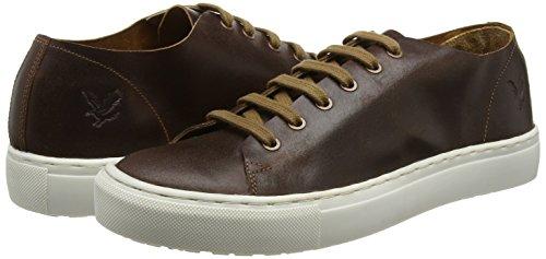 Eday Leather, Zapatillas de Estar por Casa para Hombre, Marrón (Cognac Z63), 41 EU Lyle & Scott
