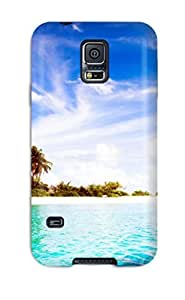Special Rachel B Hester Skin Case Cover For Galaxy S5, Popular Maldives Diggiri Island Wide Phone Case