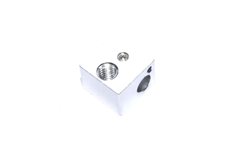 Bloque de aluminio de 16 x 16 x 12 mm para calentador de impresora ...