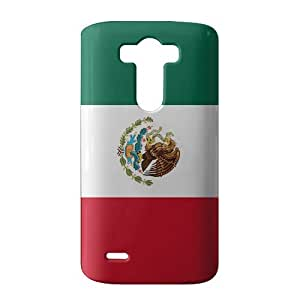 WWAN 2015 New Arrival mexico flag icon 3D Phone Case for LG G3