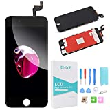 Ibaye LCD Touch Screen Replacement White for iPhone 6S 4.7 inch with Touch Digitizer Glass Disply Assembly Repair Replacement + Free Repair Tool Kits Black