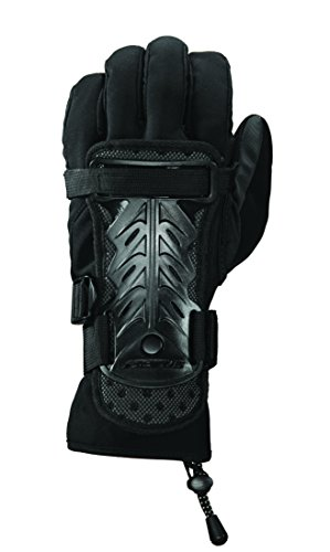 Over Snowboard Glove (Seirus Innovation 5658 Jam Master II Adjustable Over Glove Wrist Protection to Prevent)