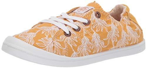 - Roxy Women's Bayshore Slip on Shoe Sneaker, Mustard, 7 Medium US