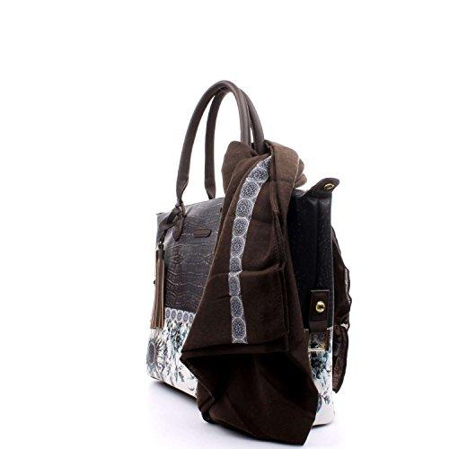 L'atelier du sac 5666 Bolso gran Accesorios Negro