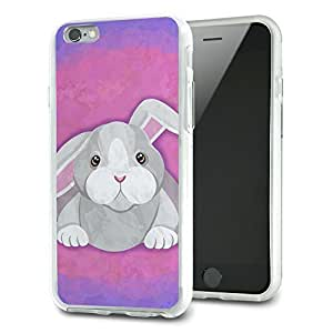 Bunny Rabbit Slim Fit Hybrid Case Fits Apple iPhone 6 Plus