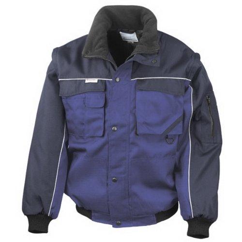 Giacca Taglia Per I Colore Result Piloti navy Divertente blu M giacche blu Di Royal Btfqxnw