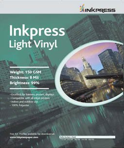 Supply Spot offers Inkpress Light Vinyl Inkjet Paper 17