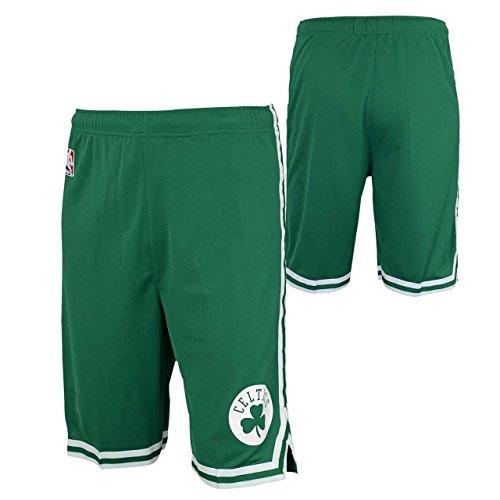 - Boston Celtics Youth NBA Replica Road Shorts - Green, Youth Large