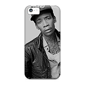 New Arrival Covers Cases With Nice Design For Iphone 5c- Wiz Khalifa