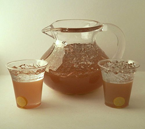 Tea Set with Pitcher and 2 Glass Playset for 18 Inch Dolls