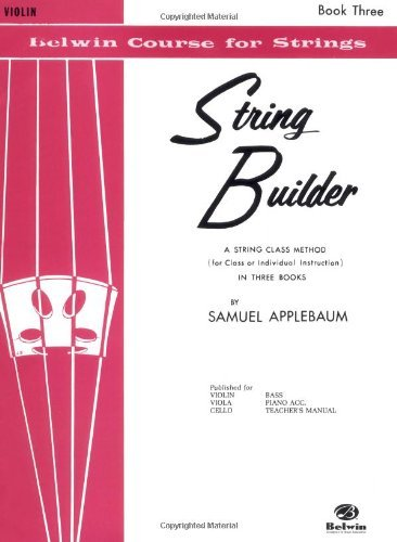 Belwin Course (String Builder V3 Violin (Belwin Course for Strings))