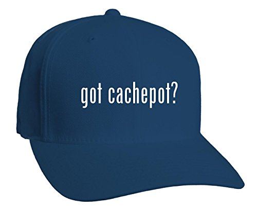 Blue Cachepot (got cachepot? Adult Baseball Hat, Blue, Small/Medium )