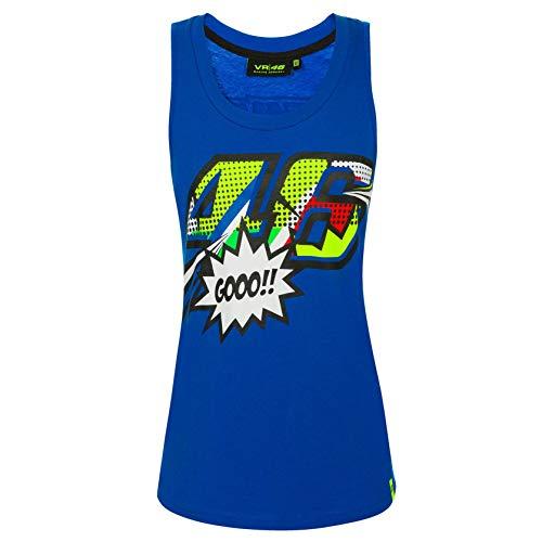 (VR46 Valentino Rossi Ladies Tank Top Womens Pop Art Vest Tee Girls Sizes)