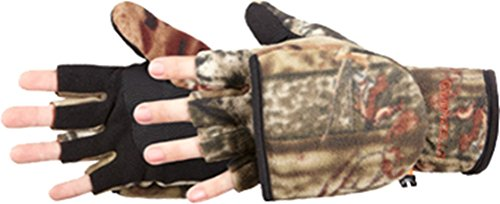 Manzella Productions Youth Bowhunter Convertible Glove Mossy Oak Infinity Medium