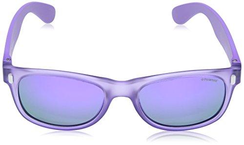 de sol P0115 Morado Rubpu Polaroid Grey Crystal Rectangulares niños Gafas para IAEqqz5w