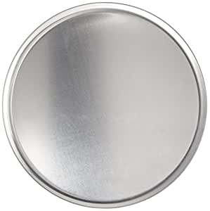 New Star 50820 Aluminum Couple Style Pizza Tray Pizza Pan, 14-Inch