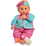 "Baby's First Premium AIR Baby 19"" Soft Machine Washable Baby Doll for Boys and Girls 2+"