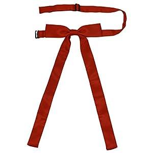 SYAYA Ladies Party Long Pre Adjustable Bow Tie Womens Girl Necktie Bowtie for Women Ties WT01